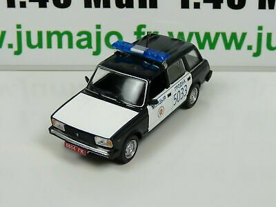 PM37K 1//43 IST déagostini POLOGNE Police du Monde CITROËN DS21 Police France