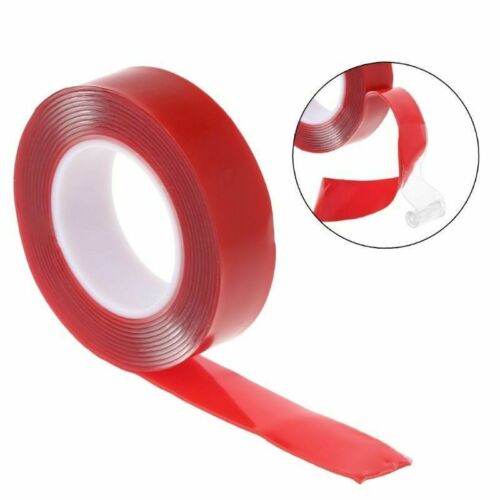 3//5//10M Clear Acrylic Adhesive Magic Tape Invisible Transparent Double Sided