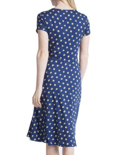 SEASALT LADIES BLUE WILLIAM FLOWER MARINE PIER VIEW DRESS NEW