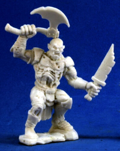 1 x OGRE BONES REAPER figurine miniature jdr rpg necromancer undead 77284