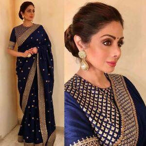 86cbb11db7e Image is loading sari-Traditional-Wedding-Designer-Indian-Latest-Bollywood- Bridal-