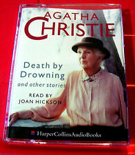 Agatha Christie Death By Drowning/Herb Of+ Miss Marple 2-Tape Audio Joan Hickson