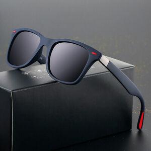 Men-Stylish-Polarizer-Sunglasses-Square-Frame-Driving-Fishing-Outdoor-UV-Glasses