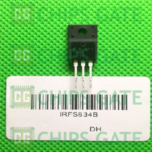 6PCS IRFS 634B MOSFET N-CH 250 V 8.1 A TO-220F Fairchild