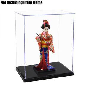 """Royaume-Uni Perspex CASE 11.8"""" H Affichage Acrylique Boîte de base en plastique antipoussière Self-Install"""