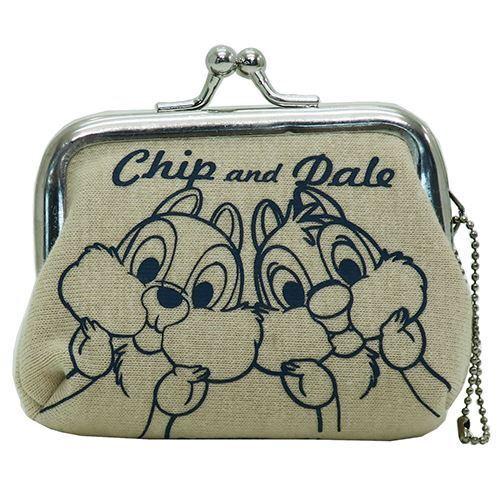 Disney Chips /& Dale Mini Coin Case MIni Bag Pouch Cute goods New Japan