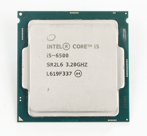 Intel Core i5-6500 3.20GHz Quad-Core CPU LGA 1151 Processor SR2L6 TESTED