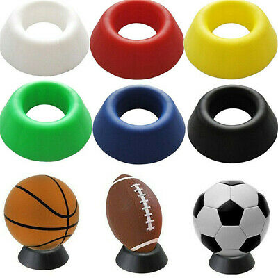 Ball Stand Display Rack Basketball Football Soccer Rugby Support Holder Base UK