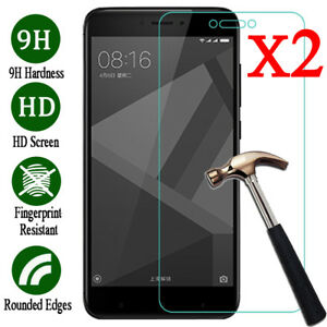 2X-9H-Premium-Tempered-Glass-Screen-Protector-Cover-Film-For-XiaoMi-Redmi-Phone