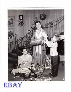 Sherry Jackson Christmas VINTAGE Photo Danny Thoams Make Room For ...