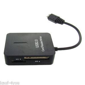 Mobile-Card-Reader-Speicherkartenleser-Kartenleser-USB-Mikro-Mini-SD-MS-M2-MMC