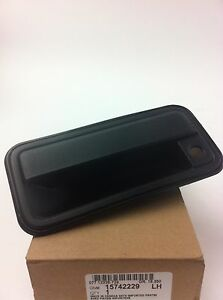 Gm 15742229 1995 1999 Lh Front Exterior Door Handle For Silverado Sierra Tahoe Ebay