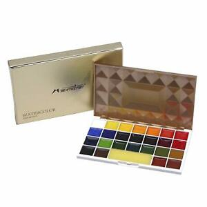 Portable-Watercolor-Paint-Set-Professional-Artist-Painting-Paints-25-Color-Set