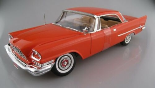 1957 chrysler 300c 60th Anniversary limitado 1.002 unid auto World 1:18 nuevo embalaje original