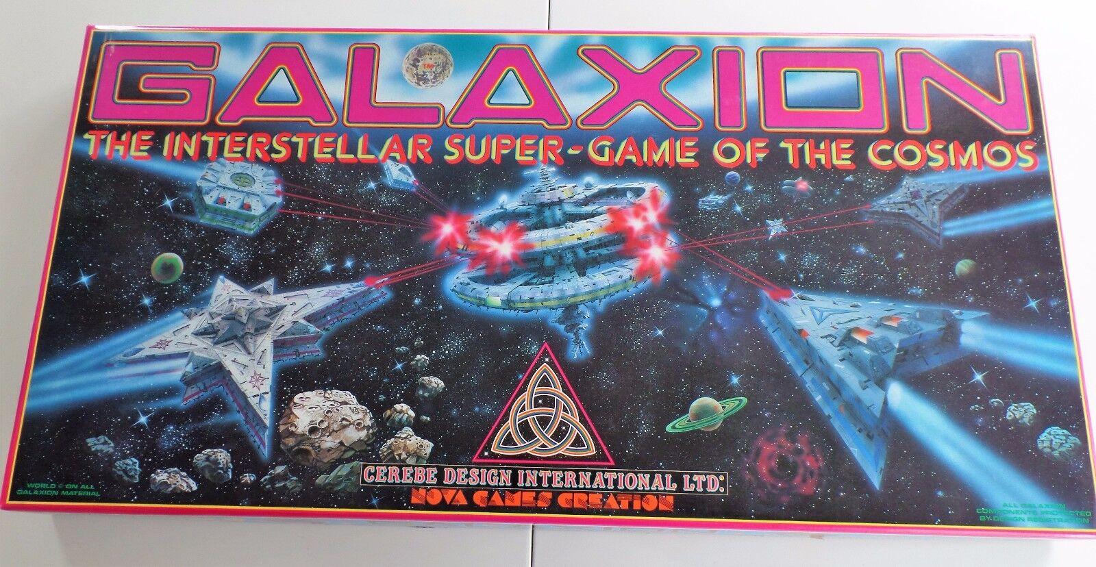 Galaxion The Interstellar Super-Game of the Cosmos - Brettspiel - Sehr Selten