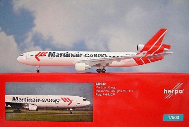 Herpa Wings 1:500 529730  Martinair Cargo McDonnell Douglas MD-11F