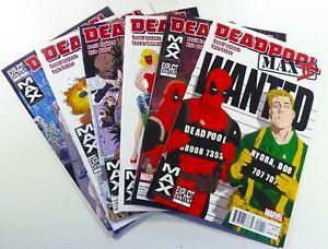 Marvel-DEADPOOL-MAX-Vol-II-2011-1-2-3-4-5-6-Complete-NM-9-4-Ships-FREE