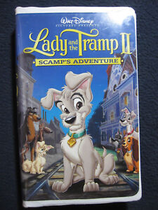 Lady And The Tramp Ii Scamp S Adventure Vhs Vhs Tape 2001 786936140446 Ebay