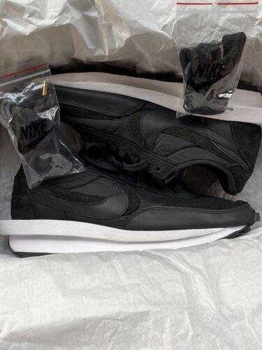 Nike Mens Sacai Black Nylon Waffle Size 10.5