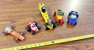 Lot-of-Vintage-Tootsie-Toy-Cars-Dune-buggy-Stick-Shifters-Hasbro-Buddy-L