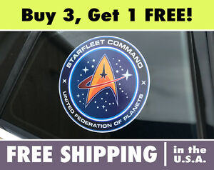 The Original Series Command Insignia Logo Car Magnet NEW UNUSED Star Trek