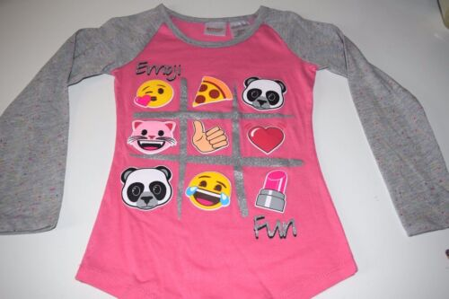 New Emoji shirt size S M L XL Long Sleeve shirt Emoji shirt pink girls Emoji