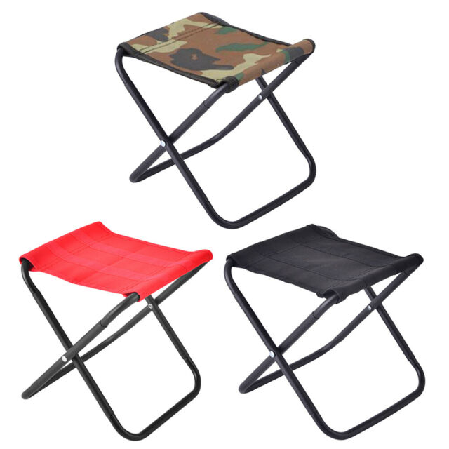 Lightweight Folding Stool Outdoor Camping Hiking Picnic Travel Seat Chair