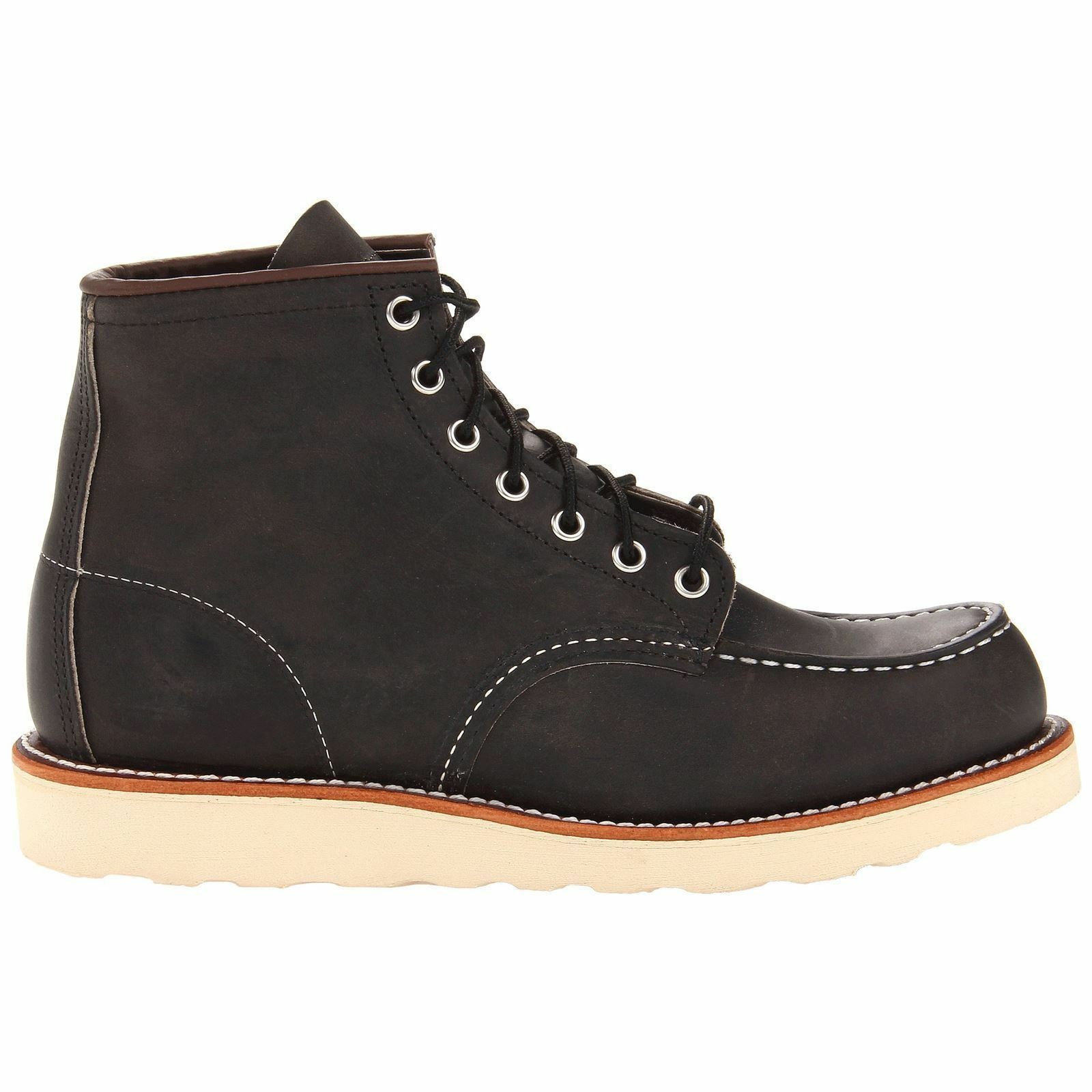 rojo Wing Moc Toe 8890 Charcoal Mens botas