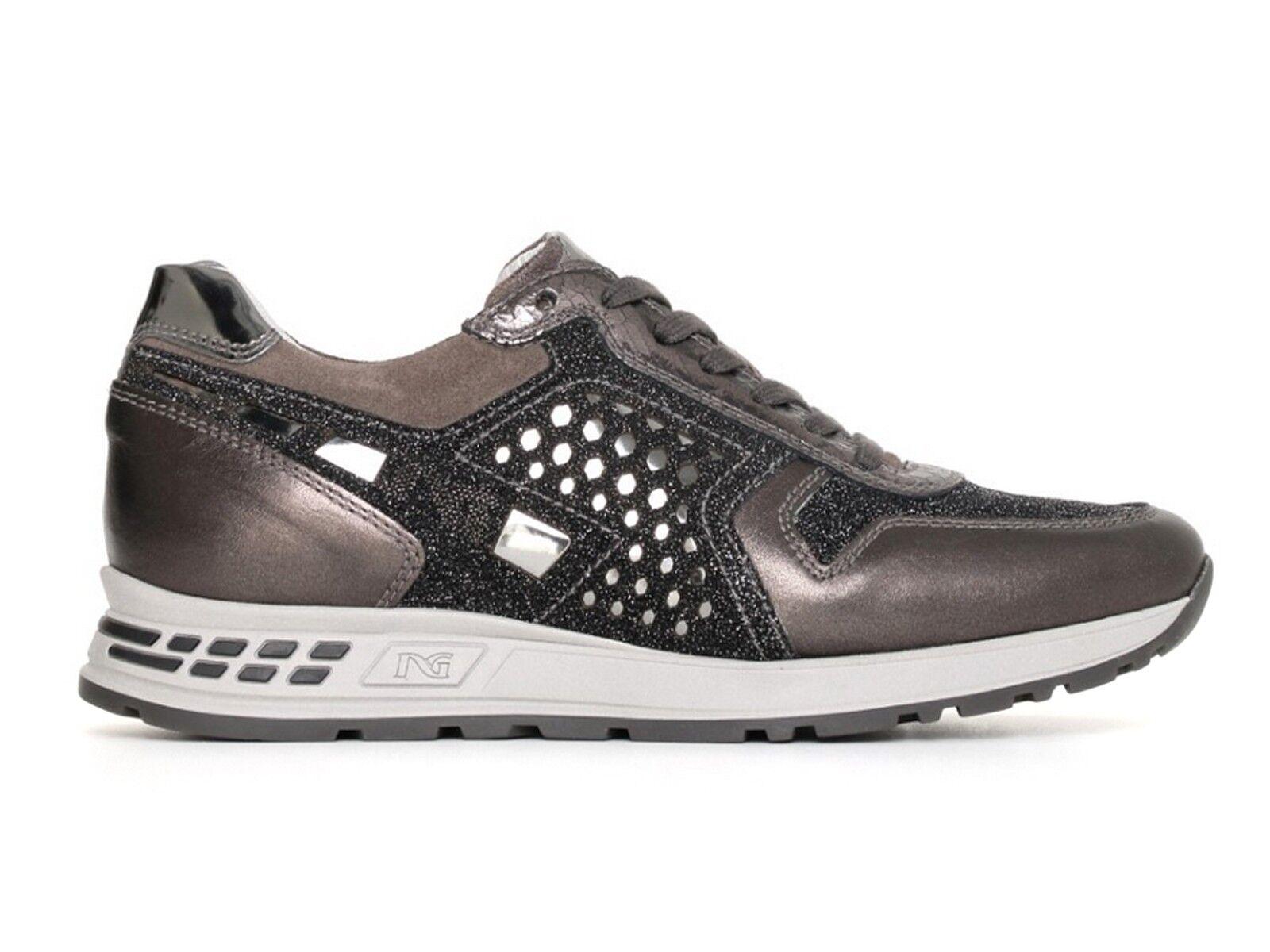 zapatos mujer negro GIARDINI GIARDINI negro INVERNO A719470D 101  zapatillas ANTRACITE 06dbee