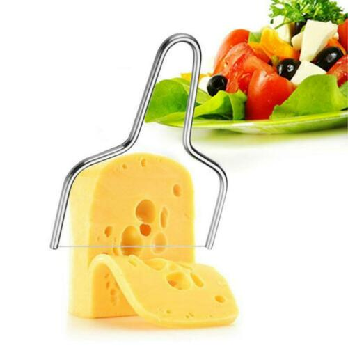 Stainless Steel Cheese Wire Slicer Cheese Butter Cutter
