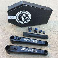 Shadow Conspiracy Killer 3 Pc Cranks 175mm Black Bmx Bike Crank