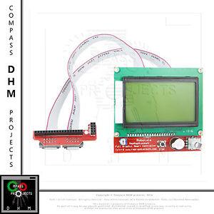 Full-Graphic-Smart-Controller-12864-LCD-Controller-schermo-LCD-3D-printer