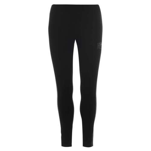 USA Pro Femme Jersey Leggings Pantalon Pantalon léger élastique