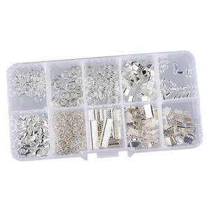 Schmuckherstellung-Set-Starter-Kit-Metall-Verschluss-Kettenverschluss-Karabiner