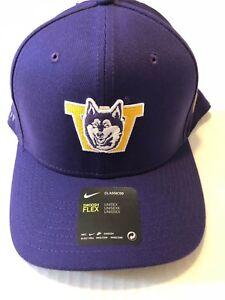 a6f460d1a Details about Washington Huskies NCAA Nike Local Dri-Fit Swoosh Flex Hat  Classic99