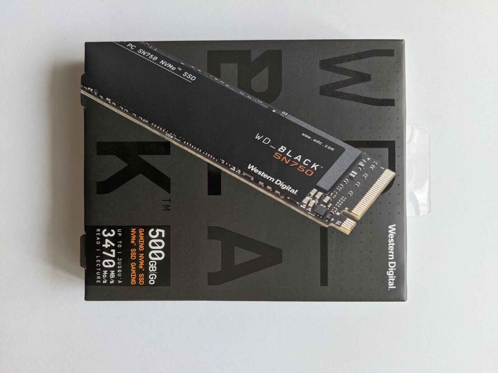 WD - WD_BLACK SN750 NVMe 500gb Internal PCI Express 3.0 x4 Solid State Drive. Buy it now for 59.99