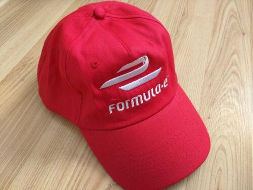 Brand New FIA Formula E Racing Motorsports Baseball Cap Hat Red One Size