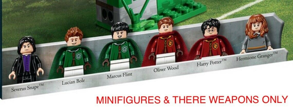 6 X LEGO HARRY POTTER MINIFIGURES SPLIT FROM SET 75956. BRAND NEW. ALL FANS