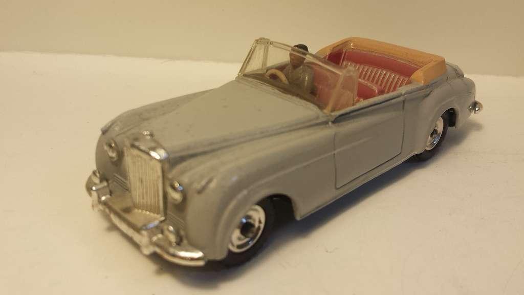 Dinky Bentley s2 vieux  pas de réédition
