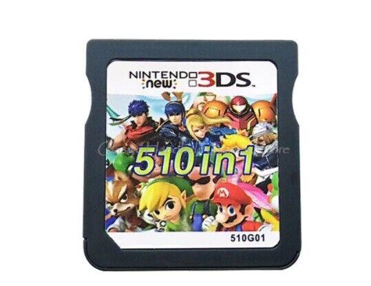 Cartucho Nintendo DS 3DS 2DS de 510 Juegos | N3DS | 510...