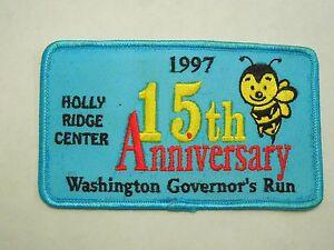 1997 15ème Anniversaire Washington Governor's Run Holly Crête Abeille Centre Nombreux Dans La VariéTé