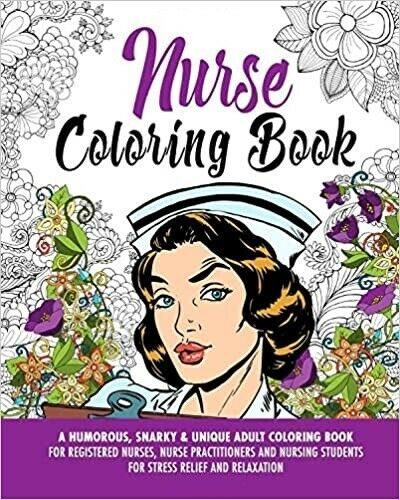 Nurse Coloring Book A Humorous Snarky & Unique Adult By Morgana Skye MINT  For Sale Online EBay