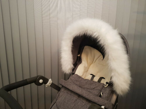 Silver Cross Pram Hood Furs Trim Fit Balmoral Wayfarer Aston Martin Coast Reflex
