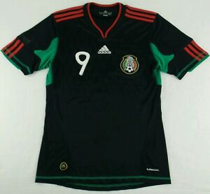 Details about Vintage Adidas 2010 Mexico National Team Chicharito Soccer Jersey Size Mens S