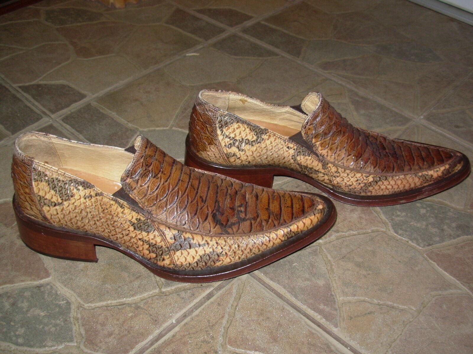 Amazing Vero Cuoio snakeskin schuhe Größe on the sole (eu 40 understated )