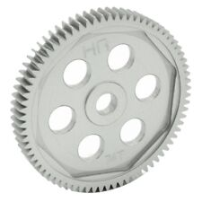 Hot Racing Hard Anodized Aluminum Spur Gear (74t 48p) - Assoc SCT874H