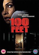 100 Feet [DVD], Very Good DVD, Famke Janssen, Bobby Cannavale, Ed Westwick, Mich