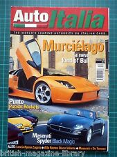 Auto Italia 64 Murcielago Maserati Spyder Hyena Kyalami vs Longchamp 365P Stola