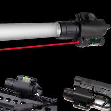 Combo Cree LED Q5 Flashlight&Red Laser Sight 20mm Rail For Rifle Gun Hunting
