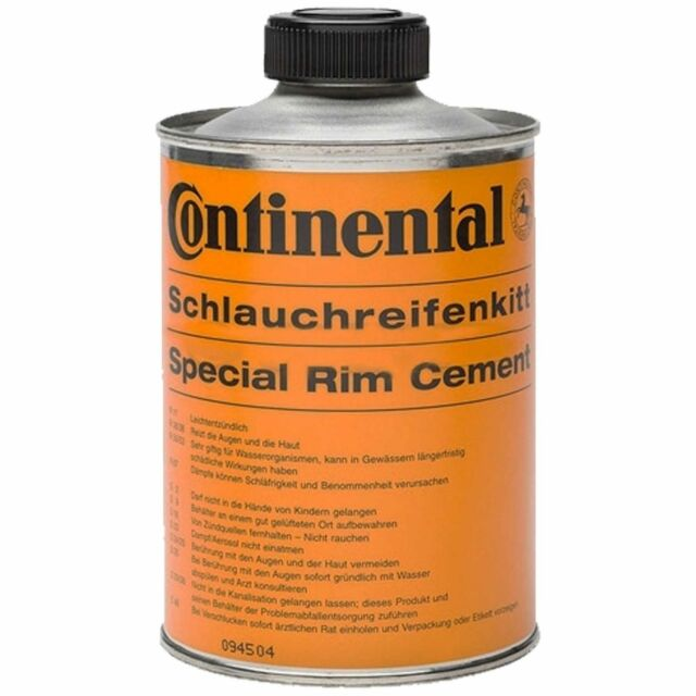 Continental Aluminium Rim Cement Tubular / Tub Glue - Tin 350g
